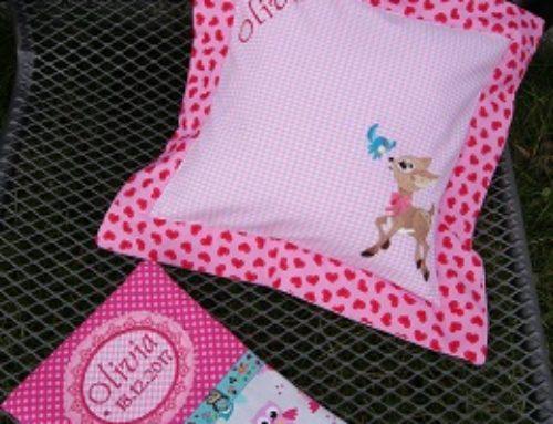 Geschenke- Set zur Geburt für Olivia…