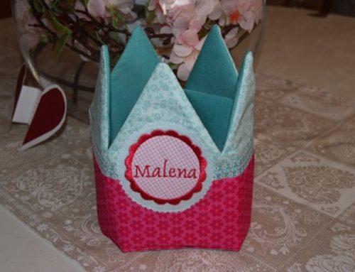 Geburtstagskrone für Malena