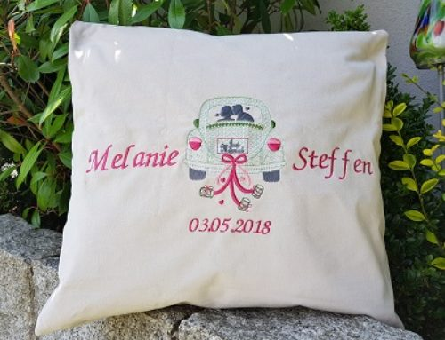 Hochzeitskissen für Melanie und Steffen…