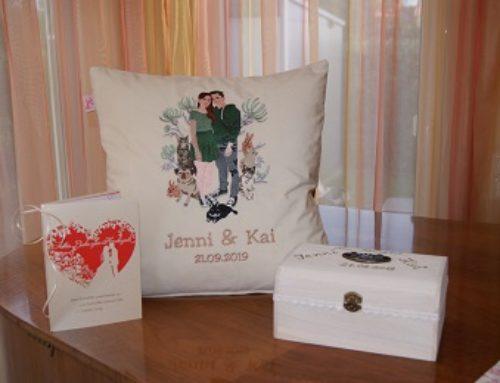 Hochzeitsgeschenk für Jenni und Kai