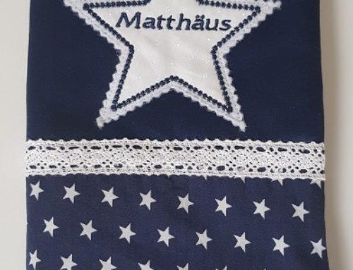 U-Hefthülle für Matthäus