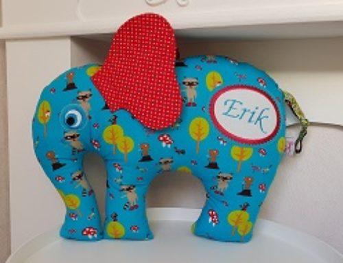 Elefantenkissen für Erik :-)