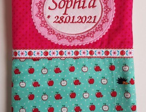 U-Hefthülle für Sophia