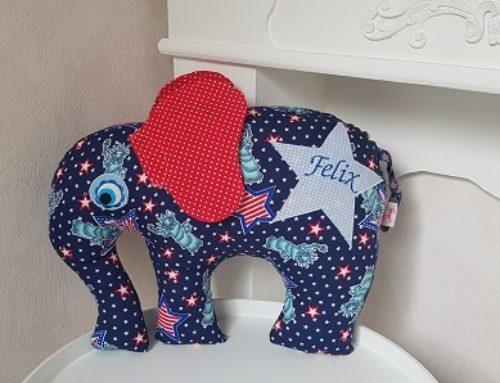 Elefantenkissen für Felix
