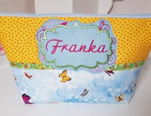 Windel-Kultur-Tasche für Franka