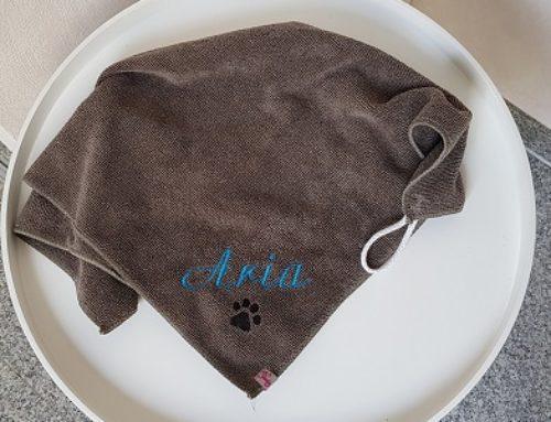 Pfötchentuch für Aria