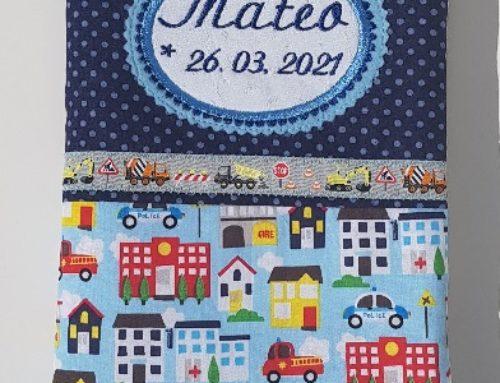 U-Hefthülle für Mateo
