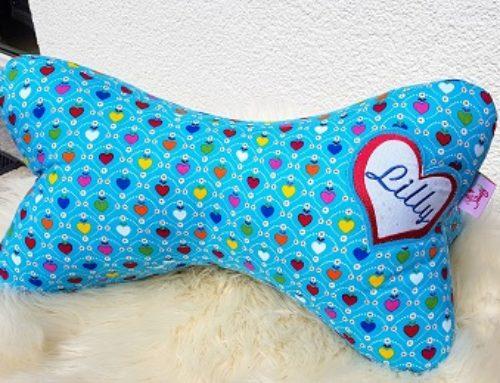 Leseknochen-Kissen für Lilly