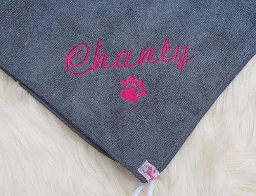 Pfötchentücher für Chanty