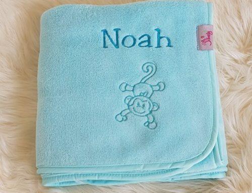Kuscheldecke für Noah