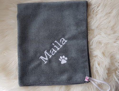 Pfötchentuch für Maila