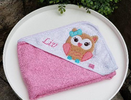 Bestickte Handtücher für Kinder