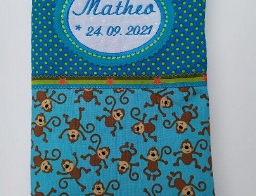 U-Hefthülle für Matheo